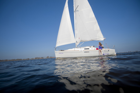 Segelboot mieten in Friesland - Beneteau First 25.7 - Ottenhome Heeg