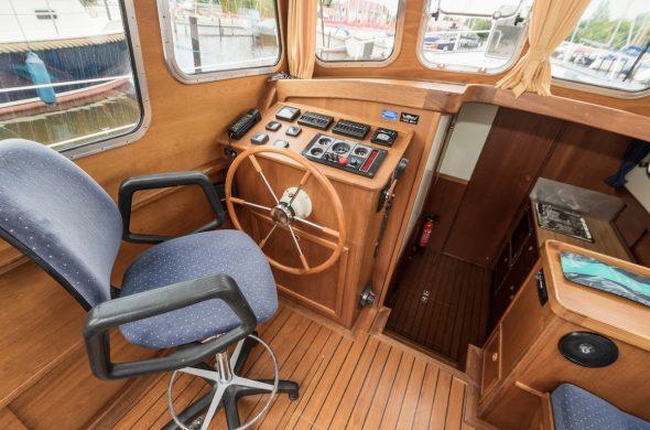 Motorboot mieten in Friesland - Oostvaarder Kotter 10.90 - Ottenhome Heeg