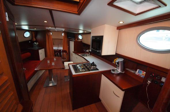 Motorboot mieten in Friesland - RiverCruise 35 - Ottenhome Heeg