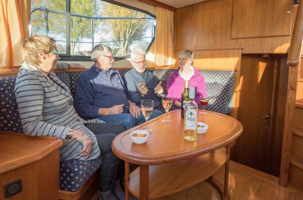 Motorboot mieten Holland - Friesland - Ottenhome Heeg